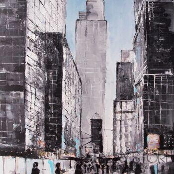 Patryk Tarnowski-The street 01-Akryl