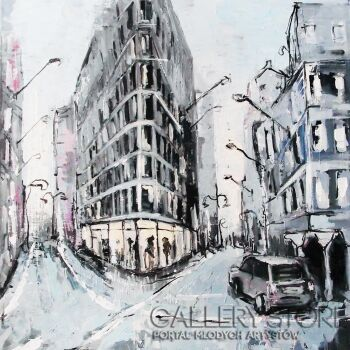 Patryk Tarnowski-The street 02-Akryl