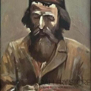 Piotr  Gola-Portret Żyda I-Olej