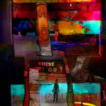 Piotr  Gola-Where do i go?-Grafika