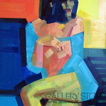 Piotr Kachny-Figure_Pleasure-Olej