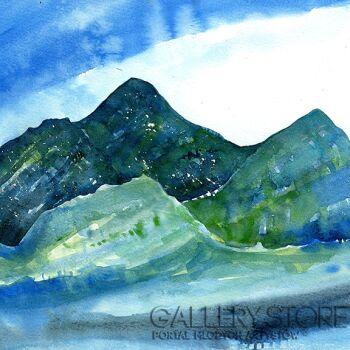 Pracownia Aquarelle Klaudia Pawelec-Gliklich-Góry nie-wysokie -Akwarela