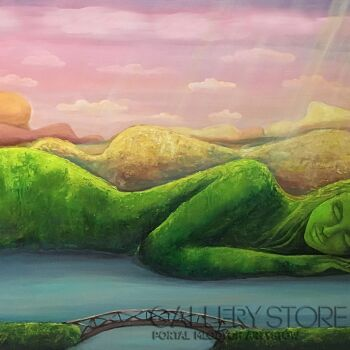 Sabina Maria Grzyb-Śpiące Góry-Akryl