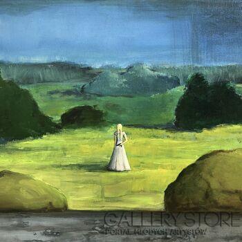 Sabina Maria Grzyb-Strach na wróblice-Akryl