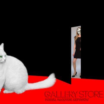 Szczepan Kurzeja-Czarny, czerwony, biały-Fotografia