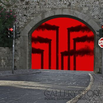 Szczepan Kurzeja-Czerwony alarm-Fotografia