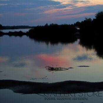 Szczepan Kurzeja-Vistula River at night 2-Fotografia