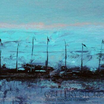 Szymon Adamczyk-Błękitna przystań-Akryl