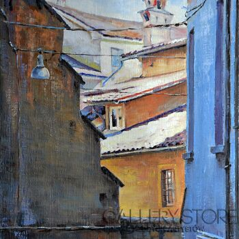 Wiaszesław Rogin-Via San Salvatore-Olej