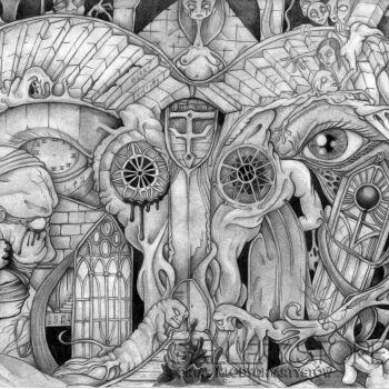 Wiktor Tabak-Bez tytułu 69w-Rysunek