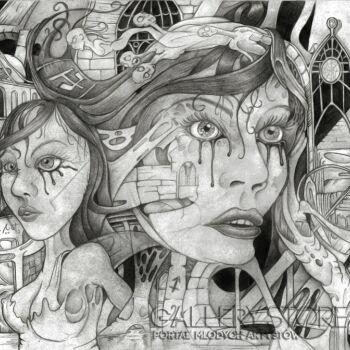 Wiktor Tabak-Dwie strony-Rysunek