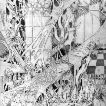 Wiktor Tabak-Okna snu-Rysunek