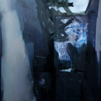 Wiktoria Balawender-przestrzeń-Akryl