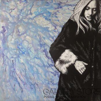 Wojciech Urbańczyk-zima-Akryl
