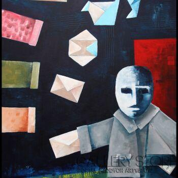 Zbigniew  RAMSKO Kozłowski-Bluebird(s)-Akryl