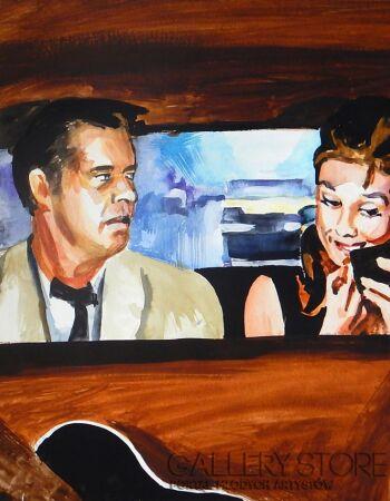 Marcin Kędzierski-Holly i Fred w taksówce-Mieszana