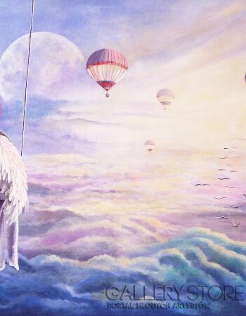 Martyna Mączka-Anioł stróż-Akryl