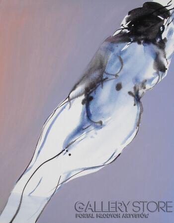 Włodek Warulik-PORANNY PRZYPŁYW-Akryl