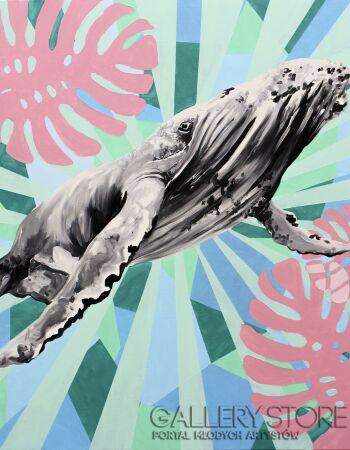 Zuzanna Jankowska-Super wieloryb-Akryl