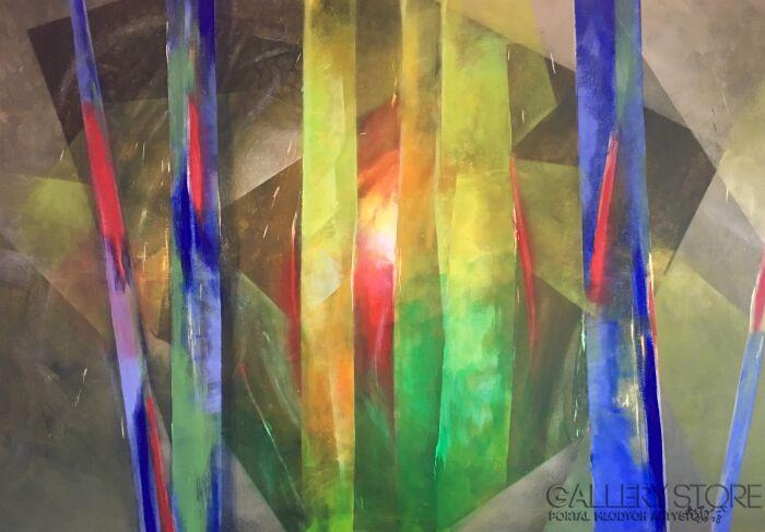 Agata Padol-Figury 3-Olej