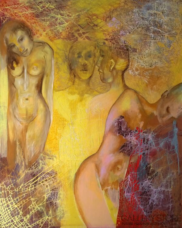 Anna Lupa-Suchy-Nie czas na indywidualizm-Olej