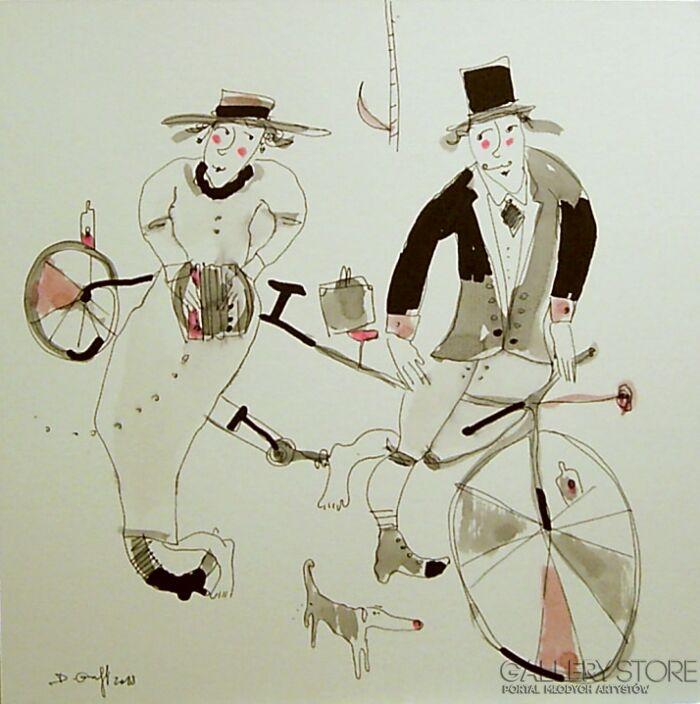 Dariusz Grajek-Bicyklowi grajkowie......-Grafika