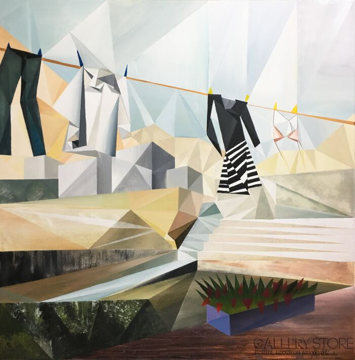 Filip Warzecha-ONA I ON-Akryl