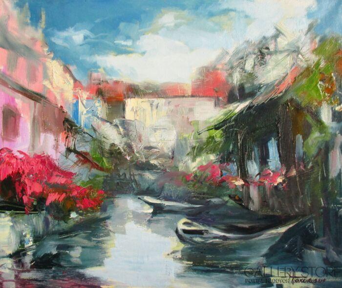 Henadzy Havartsou-Colmar. Francuskie wakacje I-Olej