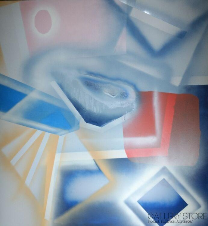 Paulina Klimas-Abstrakcja III-Mieszana