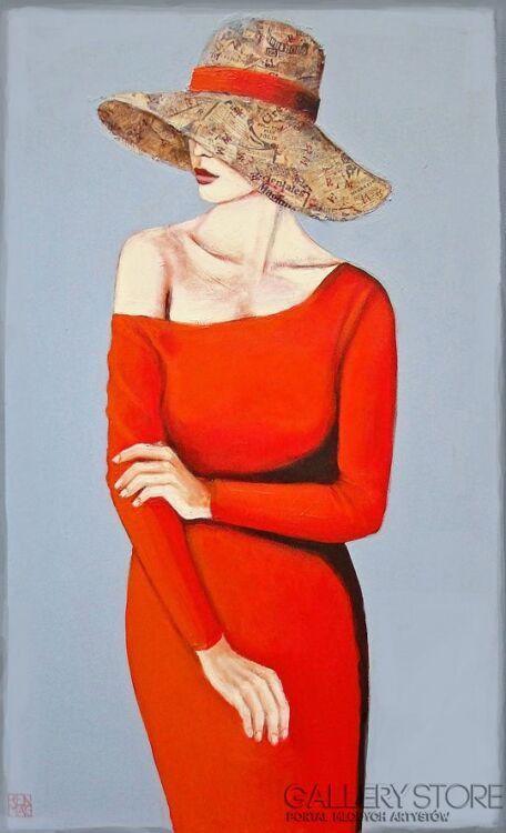 "Renata Magda-"" Anonymous IV ""-Akryl"