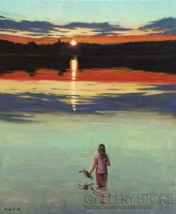 Agnieszka Mrowca-Mirror for the sun-Akryl