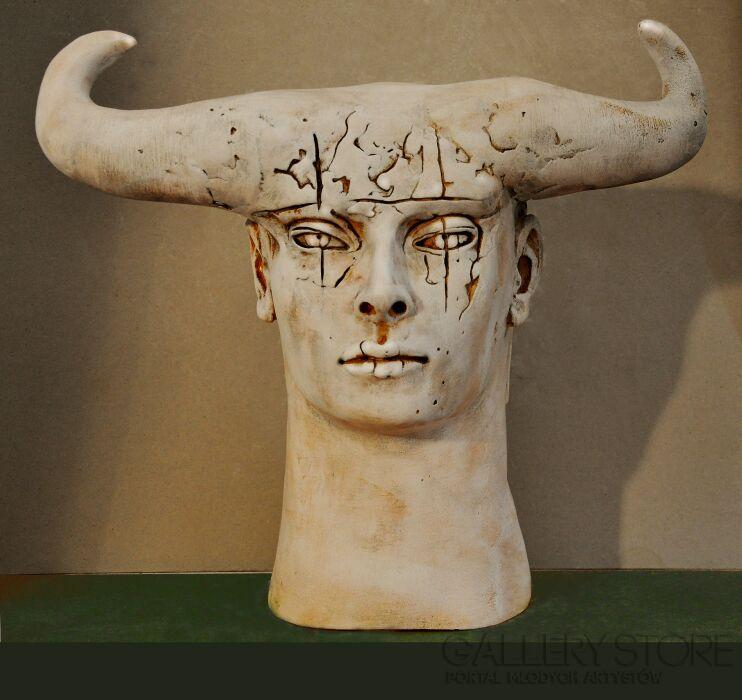 Aleksandra Koper-MINOTAUR-Rzeźby