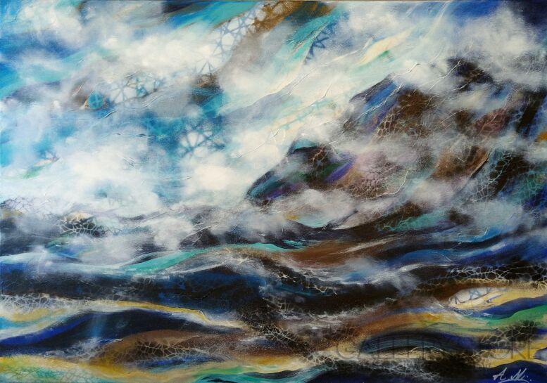 Aleksandra  Michalik-W chmurach-Akryl