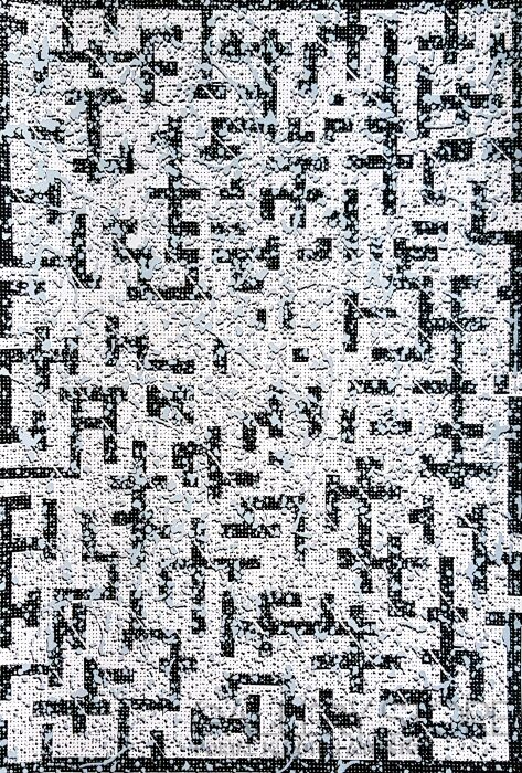 Amadeusz Popek-Labyrinth-blizzard-white-Grafika