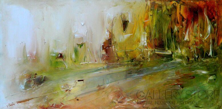 Aneta Barglik-'Wędrówka'-Olej