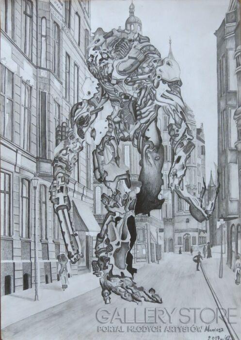 Aneta  Lachendro-Sztuczna Inteligencja -Rysunek