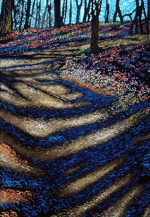 Angelika Mus-Nowak-Konformistyczne cienie przybierają kształt podłoża-Rysunek