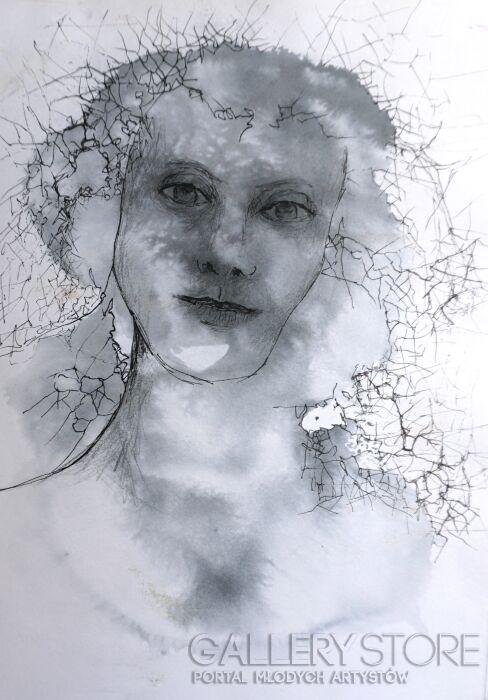 Anna Lupa-Suchy-Deszcz w Cisnej-Rysunek