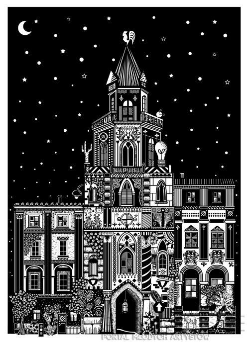 Dominika Wilk-Wieża Trynitarska-Grafika