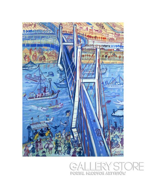 Edward Dwurnik-Most Siekierkowski-Inkografia