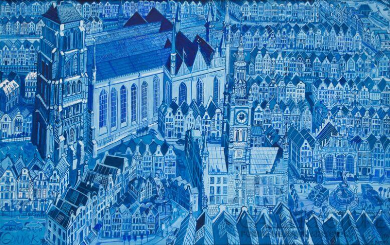 Edward Dwurnik-Wolne Miasto Gdańsk-Inkografia