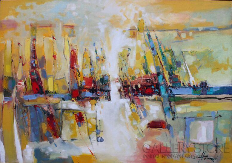 Henadzy Havartsou-Yacht Club-Olej