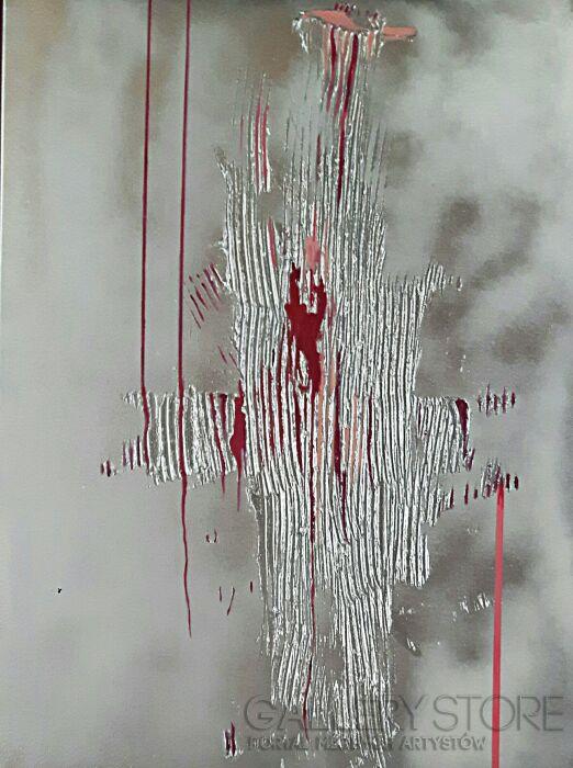 Iza Kostiukow-z cyklu - Obraz pozorny-Akryl