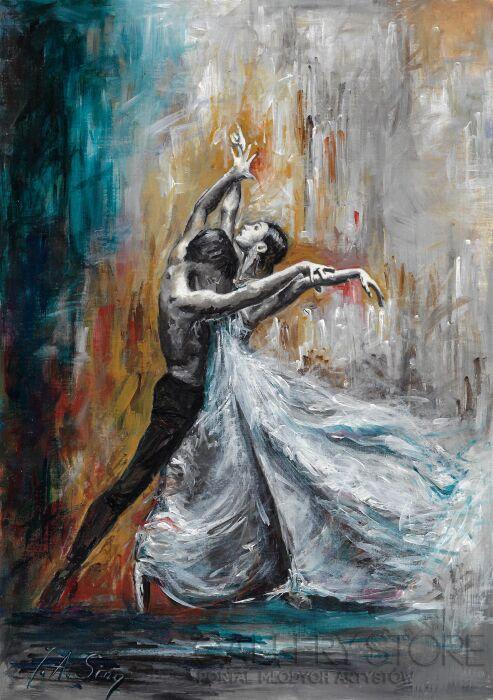 J. Aurelia Sikiewicz-Wojtaszek-Taniec-Akryl