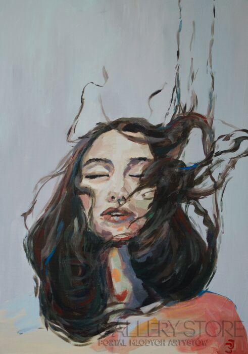 Joanna Jelonek-podmuch-Akryl