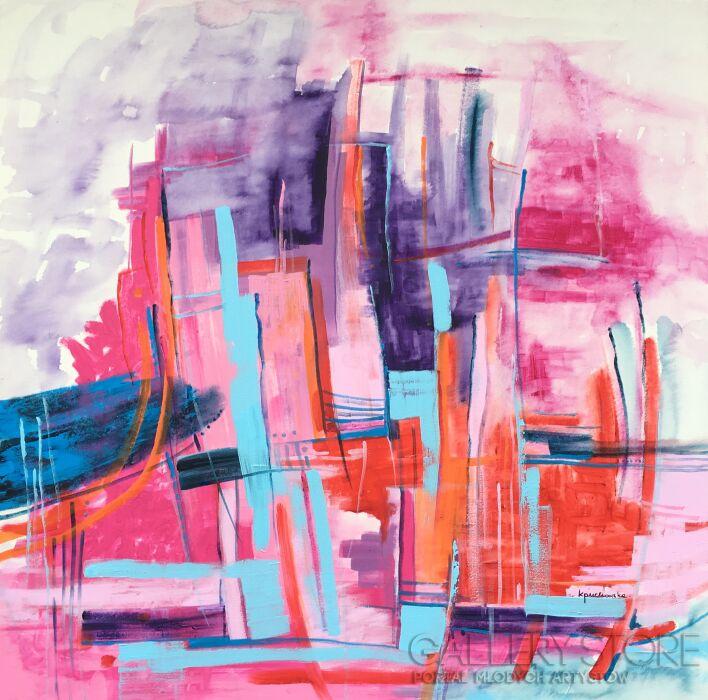 Kasia Puchowska-New York-Akryl