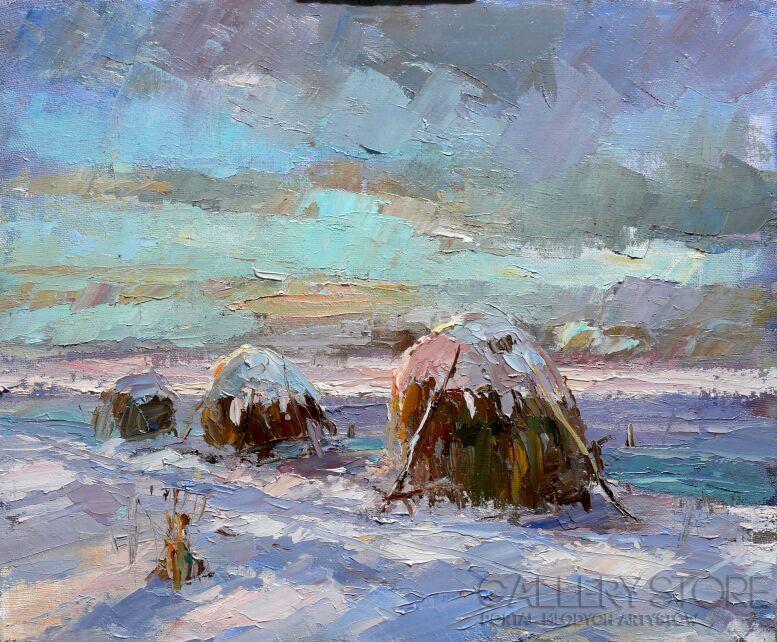 Krzysztof Tracz-Pejzaż zimowy_9-Olej