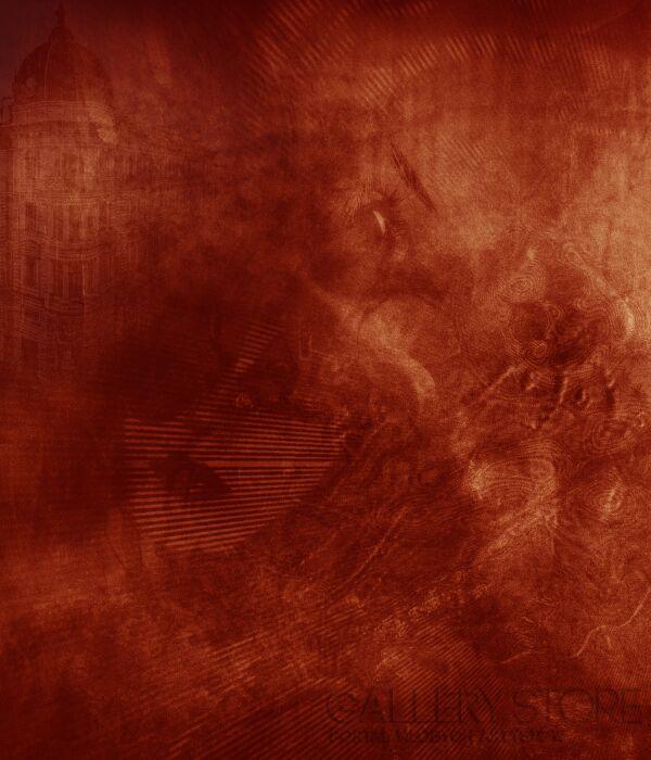 Małgorzata Bryndza-Czerwona otchłań-Grafika