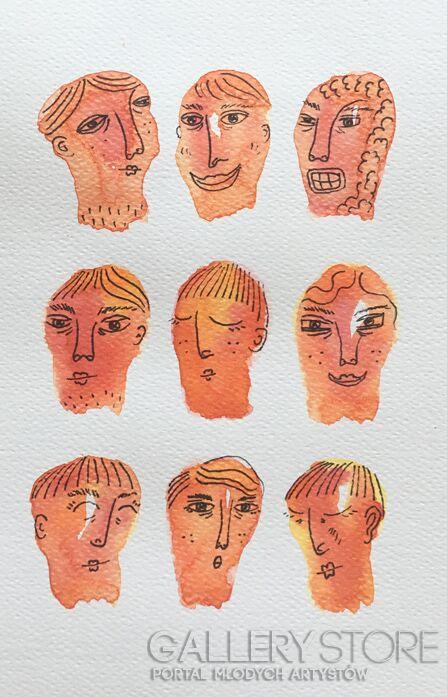 Marcin Waśka-Tysiące twarzy setki miraży 4-Akwarela