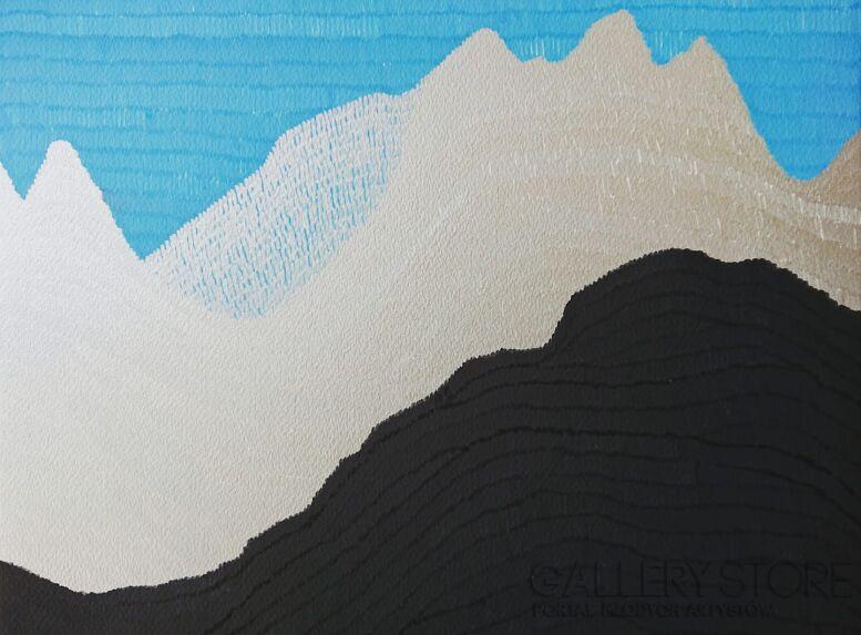 Marek Ejsmond-Ślusarczyk-Niebieski szlak 1-Rysunek